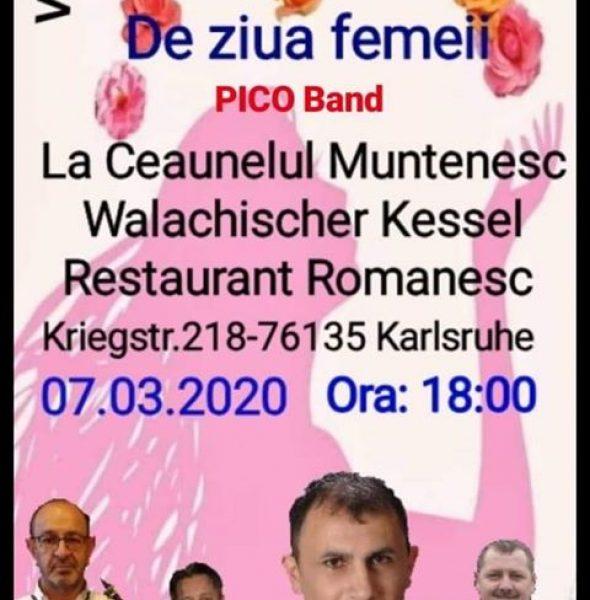 Petrecere de ziua femeii la Karlsruhe